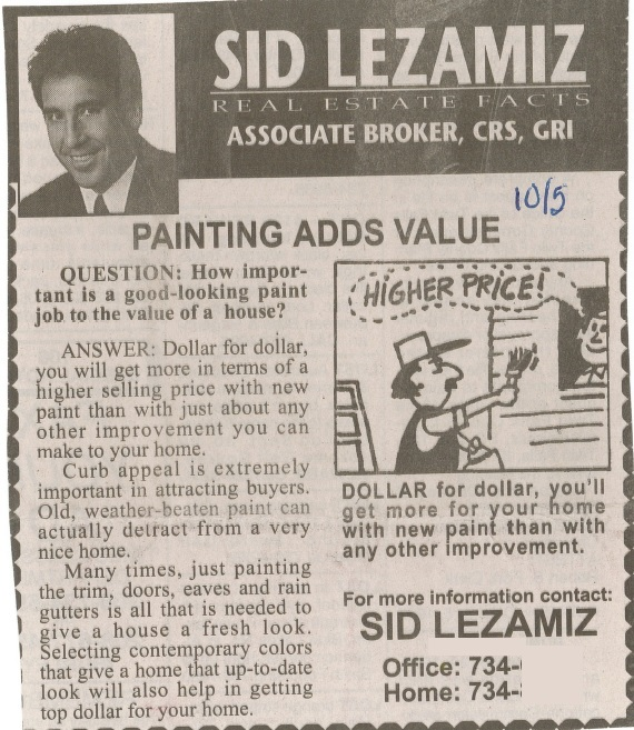 Painting add Value